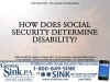 How Does the SSA Determine Disability?